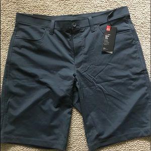 "Under Armour Shorts - Under Armour Mens Flat Front Tech Golf Short - 10"""